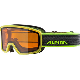 Alpina Scarabeo S DH Goggles yellow translucent